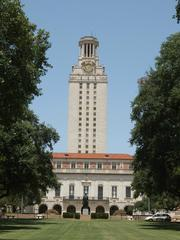 The University of Texas at Austinの象徴 UTタワー