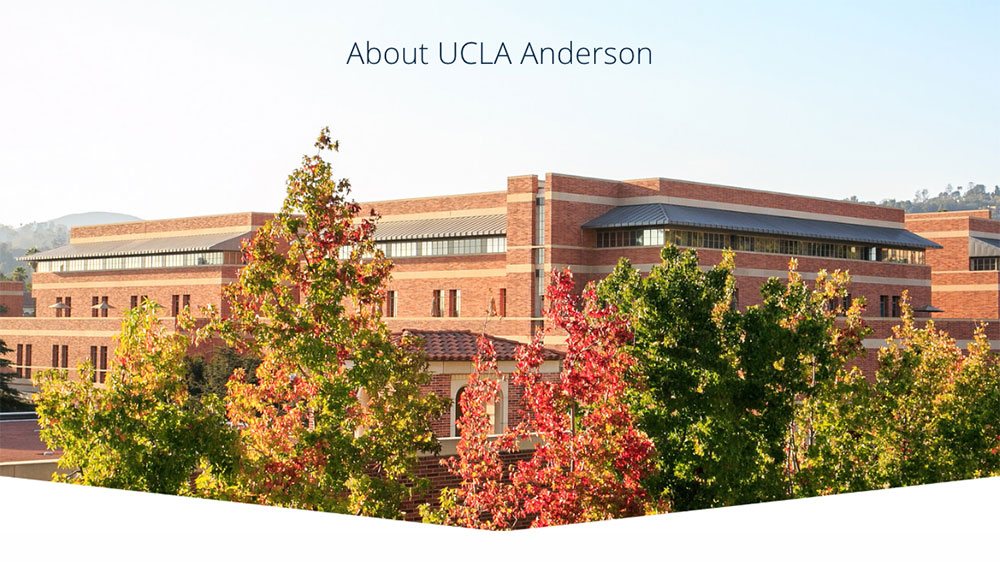 UCLA Anderson その後の日々